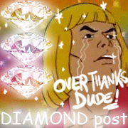 diamond post
